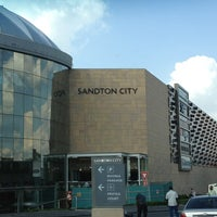 Photo taken at Gautrain Sandton Station by Andy S. on 2/1/2013