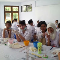 Photo taken at Program Studi Pendidikan Dokter Gigi by Gloria M. on 2/11/2013