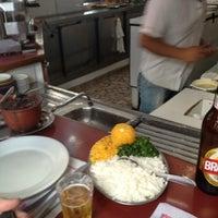 Photo taken at Lanchonete e Restaurante Dona Inês by Rafa C. on 8/7/2013