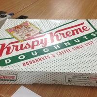 Photo taken at Krispy Kreme Doughnuts by Bobby L. on 6/27/2013