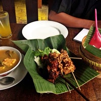 "Photo taken at Warung Lesehan Ayam Bakar ""Lientang"" by Norman B. on 4/8/2015"
