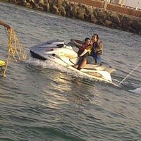 Photo taken at Blue Beach Resorts || شاليهات الشاطئ الأزرق by Abdullah S. on 3/8/2013