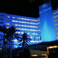 Photo taken at Hilton Cartagena by Christian Guillermo G. on 12/2/2012
