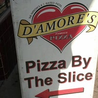 Photo taken at D'Amore's Famous Pizza by Jerome B. on 8/19/2013