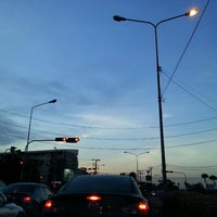 Photo taken at NIDA Intersection by Talerngsak S. on 5/4/2013