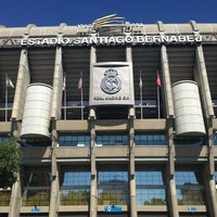 Photo taken at Santiago Bernabéu Stadium by Andrés C. on 6/14/2013