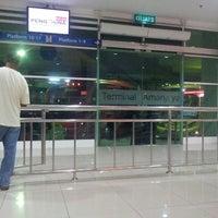 Photo taken at terminal bas amanjaya by Fendy A. on 7/12/2013