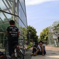Photo taken at Taman Menteng by Putra W. on 7/7/2013
