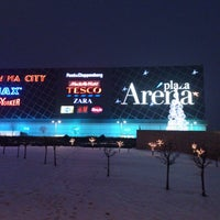 Photo taken at Arena Plaza by Aleksandar O. on 1/15/2013