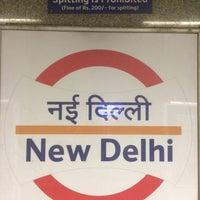 Photo taken at Delhi Aerocity Metro Station by Vitally M. on 5/4/2016