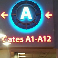 Photo taken at Concourse A by Me Y. on 12/13/2012