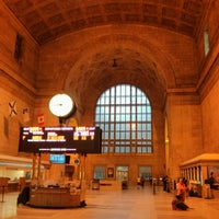 Photo taken at Union Station (YBZ) by Oleksandr P. on 6/26/2013