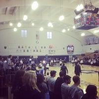 Photo taken at McDonough Gymnasium, Georgetown University by Anupam C. on 3/18/2014
