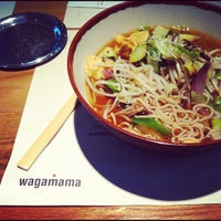 Photo taken at Wagamama by Linz S. on 10/29/2012