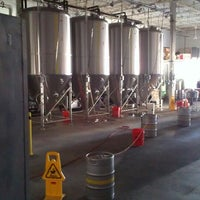 Photo taken at Half Full Brewery by Kenny A. on 3/9/2013