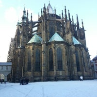 Photo taken at Prague Castle by Matej F. on 1/11/2013