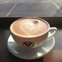 Photo taken at Moxxee Coffee by John C. on 3/9/2013