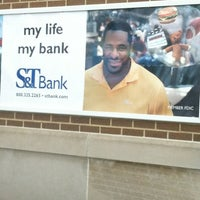 Photo taken at S & T Bank by Karl R. on 4/2/2013