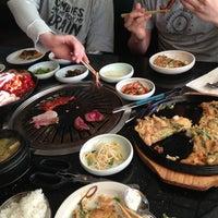 Photo taken at Palace Korean Bar & Grill by David V. on 3/25/2013