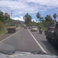 Photo taken at Jl. Trans Sulawesi by Matthew &. on 6/1/2013