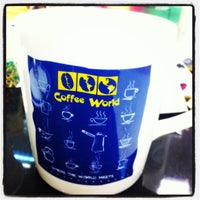 Photo taken at Coffee World by iambeepum on 1/16/2013