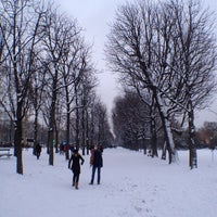 Photo taken at Gardens of the Champs-Élysées by Bart V. on 1/19/2013