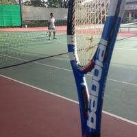 Photo taken at Văn Thánh Tennis Court by Son P. on 3/17/2013