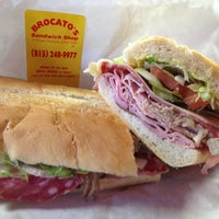 Photo taken at Brocato's Sandwich Shop by Donna Pope L. on 6/17/2013