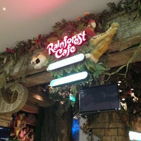 Photo taken at Rainforest Cafe Dubai by Юля К. on 6/21/2013