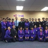 Photo taken at Thai Airways Crew Center Laksi by Karita V. on 2/9/2016