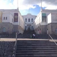 Photo taken at Museo de Arte Contemporaneo by Quito Tour Bus on 2/16/2013
