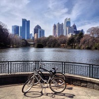 Photo taken at Piedmont Park by Maurice on 3/22/2013