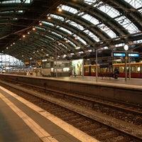 Photo taken at Berlin Ostbahnhof by Marc G. on 9/28/2013