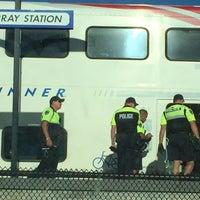 Photo taken at UTA FrontRunner Murray Station by John D. on 9/9/2016