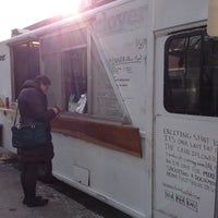 Photo taken at Clover Food Truck by Fabian P. on 1/25/2013
