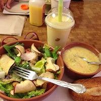 Photo taken at Panera Bread by Mariana C. on 1/16/2014