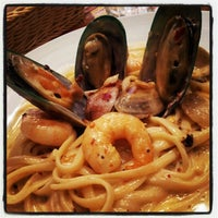 Photo taken at Capricciosa Pasta & Pizza by SheilazRien R. on 12/20/2012
