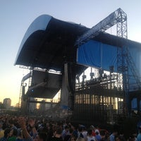 Photo taken at FirstMerit Bank Pavilion at Northerly Island by Dwight P. on 6/28/2013