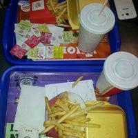 Photo taken at Burger King by ezgi m. on 1/17/2013