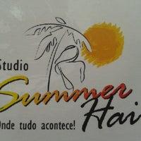 Photo taken at Studio Summer Hair by Lídice C. on 3/13/2013