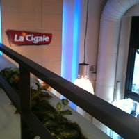 Photo taken at La Cigale by Evelyn P. on 1/28/2013
