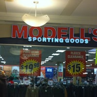 Photo taken at Modell's Sporting Goods by Bri E. on 12/30/2012