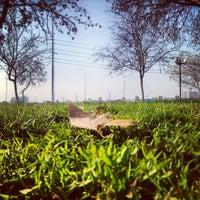 Photo taken at Laguna Parque de Los Reyes by Paola on 6/7/2013