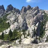 Photo taken at Castle Crags State Park by Maria K. on 7/5/2015
