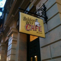 Photo taken at Belgian Beer Café Brussels by Tom T. on 2/6/2013
