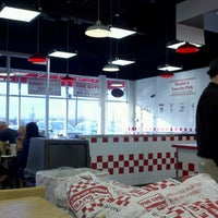 Photo taken at Five Guys by Lindy S. on 3/9/2013