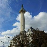 Photo taken at Place de la Nation by M.Ann on 9/22/2012