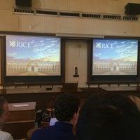 Photo taken at Lovett Hall (Rice University) by Jose Luis L. on 7/22/2016