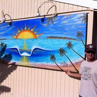 Photo taken at San Clemente Surfboards & Art By Paul Carter by Paul C. on 12/19/2013
