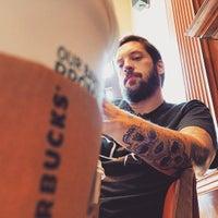 Photo taken at Starbucks by Heloisa D. on 3/21/2015